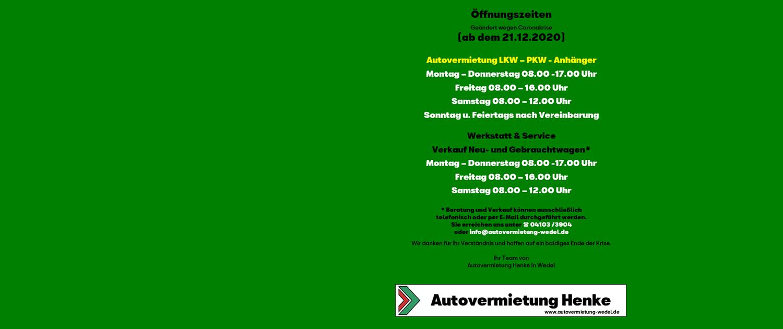 Henke-Autovermietung-Öffnungszeiten